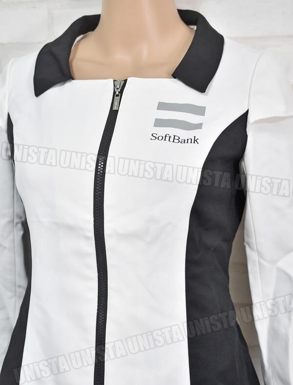 SoftBank ソフトバンク キャンペーンガール衣装・企業制服 オンワード商事製 ホワイト・ブラック2