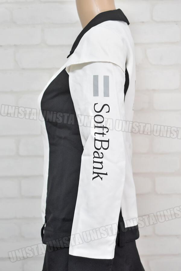 SoftBank ソフトバンク キャンペーンガール衣装・企業制服 オンワード商事製 ホワイト・ブラック3