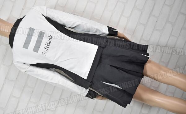 SoftBank ソフトバンク キャンペーンガール衣装・企業制服 オンワード商事製 ホワイト・ブラック4