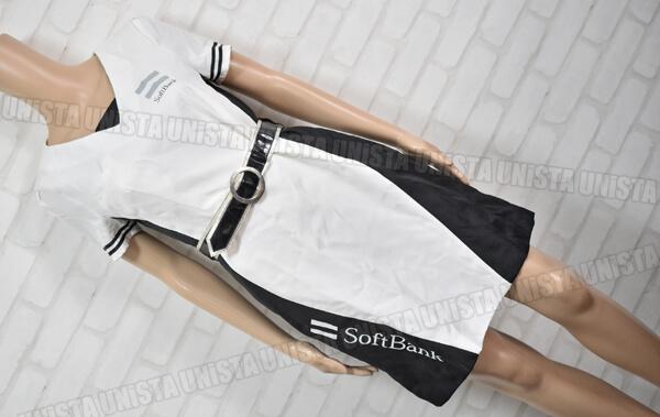 SoftBank ソフトバンク キャンペーンガール衣装 ワンピース TOPPAN製 ベルト付属