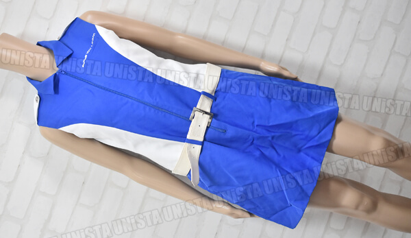 WILLCOM ウィルコム キャンペーンガール衣装 企業制服 ホワイト・ブルー 東京ユニフォーム製前面