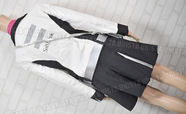 正規品 SoftBank ソフトバンク キャンペーンガール衣装 企業制服 ホワイト・ブラック4