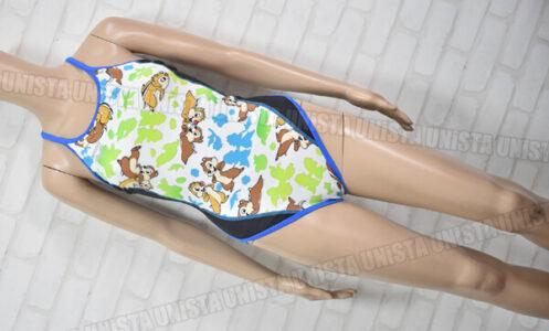 ARENA アリーナ DIS-8355W TOUGHSUIT タフスキンD フルダブUV 女子競泳水着 チップとデール柄
