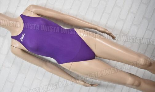 ASICS アシックス ALS643 P2 ファイナリストライン スパイラルカット2 女子競泳水着 パープル