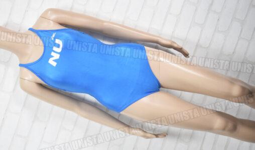 ASICS アシックス NU 日本大学 ワンピース水着 女子競泳水着 ライトブルー
