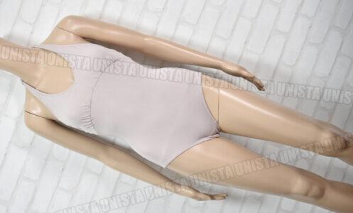 Chacott チャコット 050254-1063-61005-015 女子バレエ・ダンス ノースリーブレオタード ベージュ