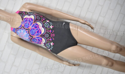 MIZUNO ミズノ N2JA7306 プライム・ストローク 女子競泳水着 ブラック・ピンク