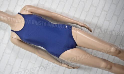 Sprinter スプリンター SP17010 紺パイピングワンピース水着 女子競泳水着 ネイビー