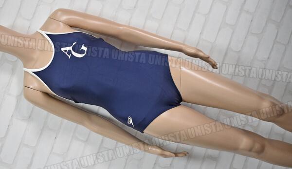 SPEEDO スピード 83OT-90080 Tバック型 青山学院大付属高指定ワンピース水着 女子競泳水着 ネイビー