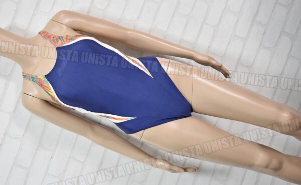 ASICS アシックス ALS129 HYDRO CD ハイドロCD 女子競泳水着 ネイビー