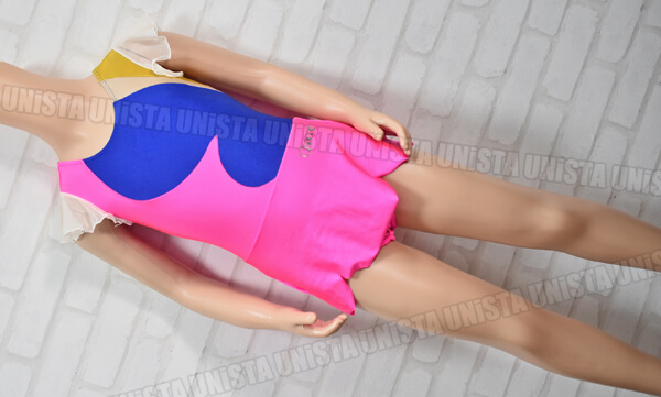 Chacott チャコット NO.5341-10002 新体操 スカート一体型レオタード ピンク・ゴールド