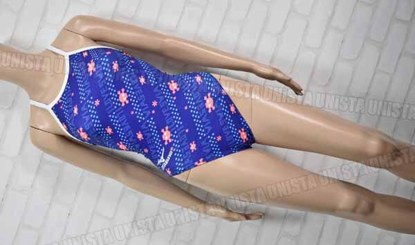 MIZUNO ミズノ N2MA5768 EXERSUITS エクサース-ツ U-fit ミディアムカット 女子競泳水着 ネイビー