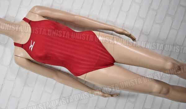 MIZUNO ミズノ N2MA6221 Stream Aqucela ストリームアクセラ ハイカット FINA 女子競泳水着 レッド