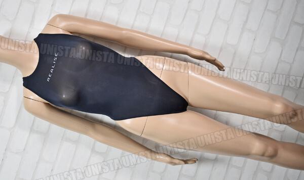 REALISE リアライズ 極薄 ハイレグ Tバック型 ワンピース水着・女子競泳水着コスチューム ブラック