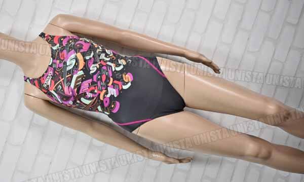 SPEEDO スピード SD45C53 FASTSKIN XT-W エクスカットスーツ FINA 女子競泳水着 パープル・チャコールグレー