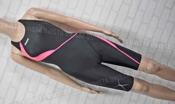 ARENA アリーナ FAR-9534W NUX-FD ニュークスFD ハーフスパッツ 女子競泳水着 ブラック・ピンク