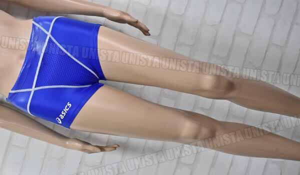 ASICS アシックス AMA501 TOP iMPACT LINE トップインパクト TLINER ARROWAVE HYDRO SP ショートボックス水着 男子競泳水着 ブルー