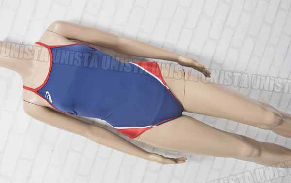 ASICS アシックス ASL802 POWERSUITS リピーテクスⅡ JAPANモデル 女子競泳水着 ネイビー・レッド