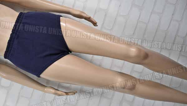 ATHLETE by MIZUNO アスリート 82RW-0211 ナイロン100% 女子バレーボール スポーツニットショーツ・スポーツブルマー ネイビー