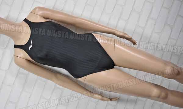 MIZUNO ミズノ N2MA0222 STREAM ACE ストリームエース FINA ハイカット 女子競泳水着 ブラック