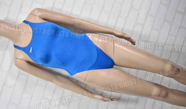 SPEEDO スピード AQUABLADE-Σ アクアブレードシグマ ハイカット 女子競泳水着 ブルー mizuno期