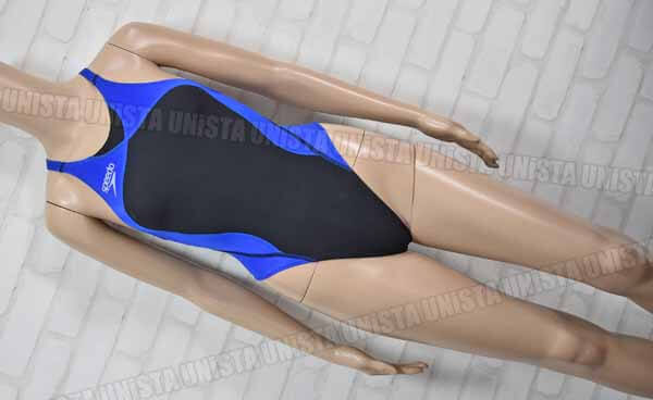 SPEEDO スピード SD30A51 FASTSKIN-XT HYBRID ファーストスキンXTハイブリッド レースカット FINA女子競泳水着 ブラック・ブルー
