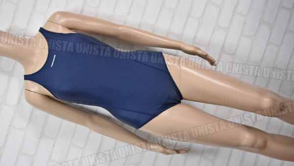 FOOTMARK フットマーク NO.101568 すまいるスイムシリーズ レーサーバック型ワンピース水着 女子競泳水着 ネイビー