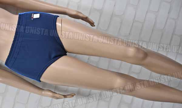 GALAX ギャレックス G716749 ニュータフニットライン入り 女子スポーツニットショーツ スポーツブルマー ネイビー