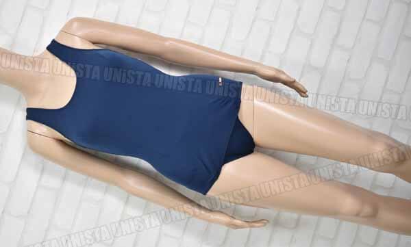 GALAX ギャレックス GB742351 旧型ワンピース水着・女子競泳水着 ネイビー