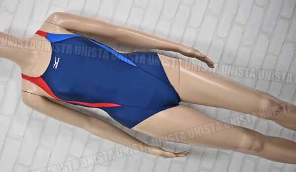MIZUNO ミズノ スコーパー 女子競泳水着 ネイビー レッド