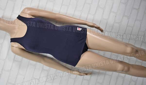 OTUKA UNIFORM 大塚ユニホーム レオナ66繊維使用 ナイロン100% 旧型ワンピース水着 女子競泳水着 ネイビー
