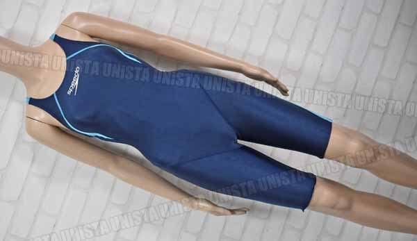 SPEEDO スピード SD40H3SF FLEX-Σ フレックスシグマ FINA ハーフスパッツ 女子競泳水着 ネイビー