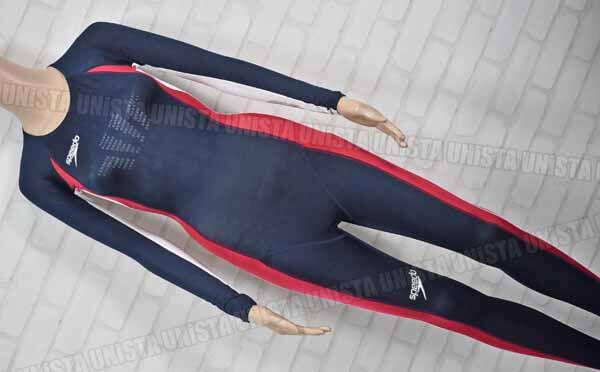 SPEEDO スピード FASTSKIN FS2 ファーストスキンFS2 Voltex Controller フルスーツ 女子競泳水着 ネイビー レッド mizuno期