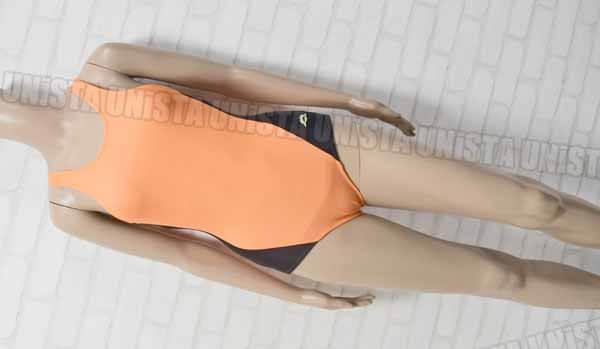 YACHT ヨット SSW41 ワンピース水着・女子競泳水着 オレンジ