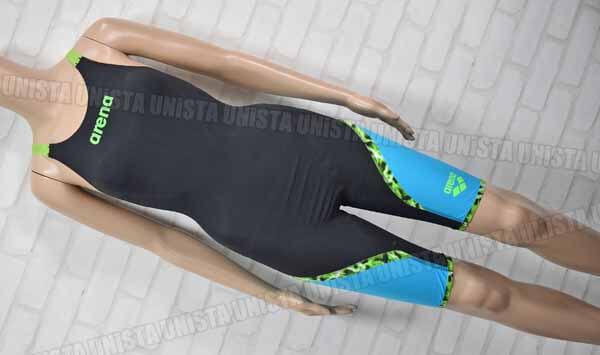 ARENA アリーナ ARN-6000W AQUAFORCE LIGHTNING アクアフォースライトニング FINA ハーフスパッツ 女子競泳水着