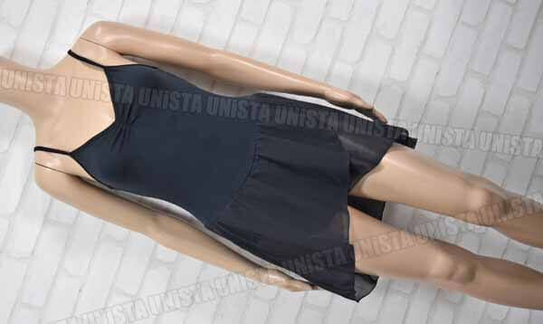 FREED by chacott フリード NO.0574-19004 女子バレエ・ダンス スカート一体型 キャミソールレオタード ブラック