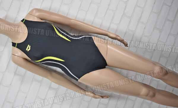 ARENA アリーナ ARN-7051W UROKOSKIN-ST ウロコスキン NUX-D ニュークスD 着やストラップ FINA 女子競泳水着 ブラック