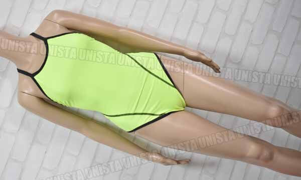 MIZUNO ミズノ N2MA7261 EXERSUITS エクサースーツ U-fit 女子競泳水着 蛍光グリーン