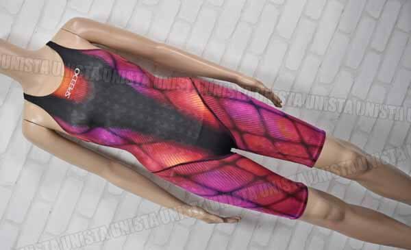 SPEEDO スピード AQUBLADE2 アクアブレード2 ハーフスパッツ型 ワンピース水着 女子競泳水着 ブラック パープル